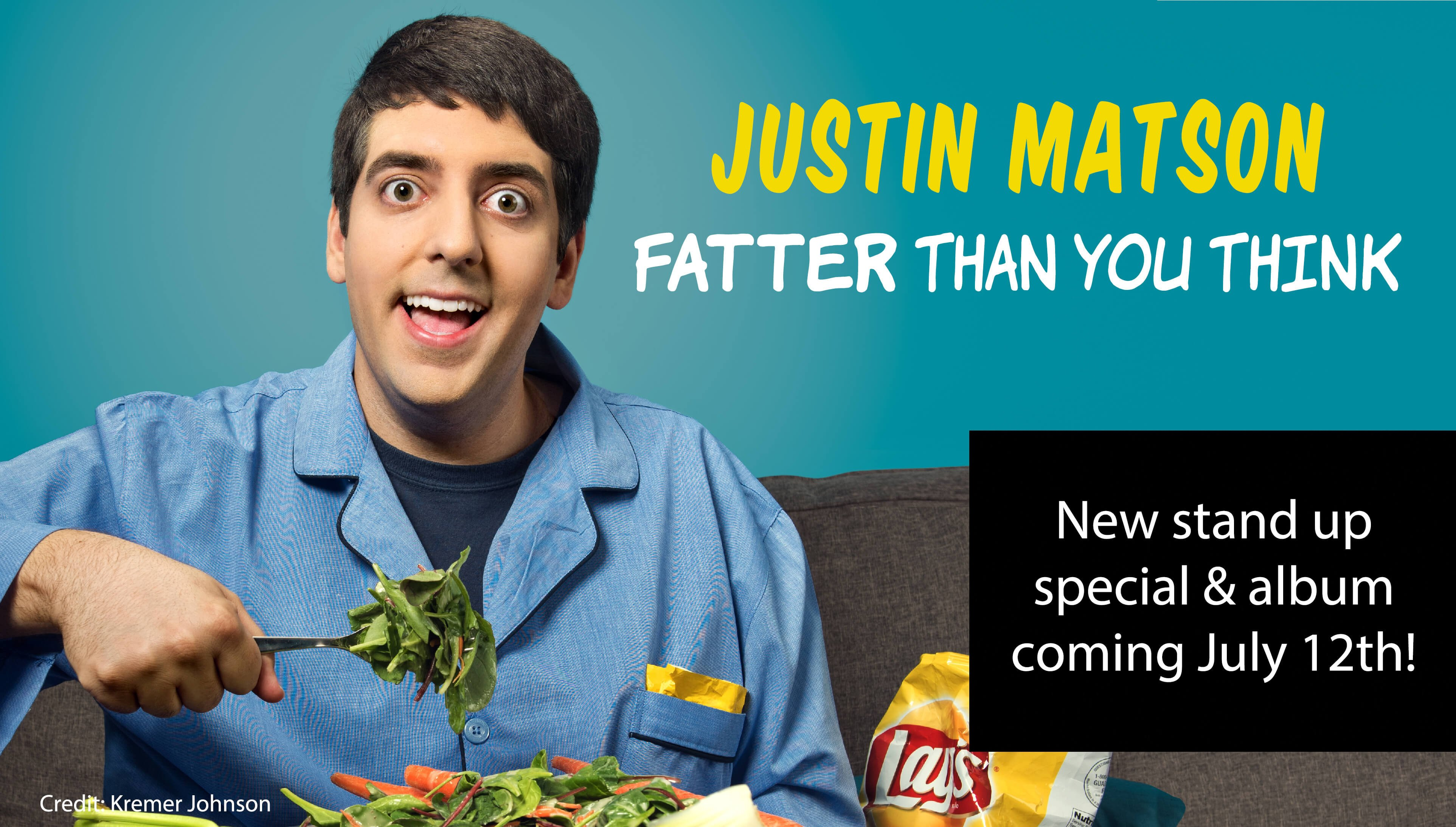 Justin Matson - Comedian - Writer - Poet - Filmmaker - Awesome - Follow on Twitter @justinmatson